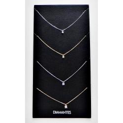 Gargantillas diamantes
