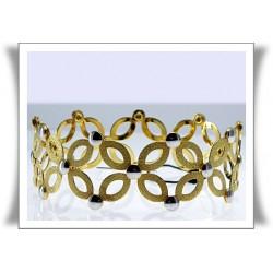 Pulsera de oro flexible