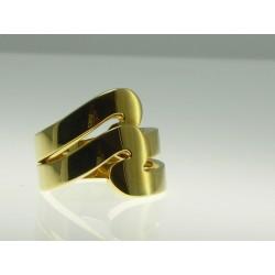 Sortija oro doble forma